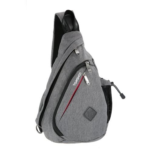 TOMSHOO Shoulder Pack Sling Chest CrossBody Bag