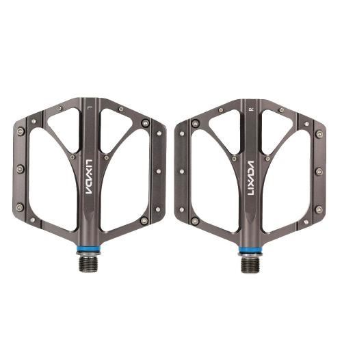 2Pcs Lixada MTB Folding Bicycle CNC Aluminum Alloy Sealed Bearing Platform Pedals 9/16Bicycle Pedals<br>2Pcs Lixada MTB Folding Bicycle CNC Aluminum Alloy Sealed Bearing Platform Pedals 9/16<br><br>Blade Length: 22.5cm