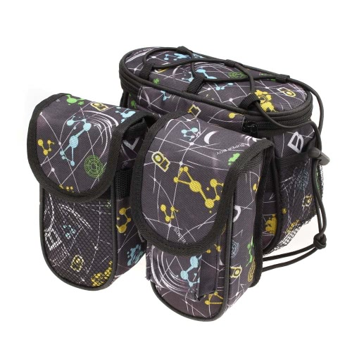 Bicycle Bike Top Tube Frame Front Pannier Saddle Bag Double Side Outdoor Cycling Cool PersonalizedBag Supplies<br>Bicycle Bike Top Tube Frame Front Pannier Saddle Bag Double Side Outdoor Cycling Cool Personalized<br><br>Blade Length: 20.0cm