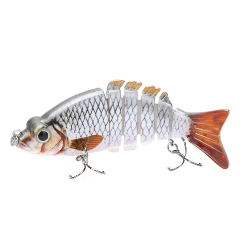 """LIXADA 10cm / 4"""""""" 21g Multi Jointed Fishing Hard Lure Bait Swimbait Life-like with Treble Hooks"""" Y0565-1"""