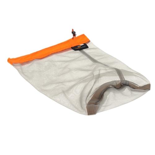 Ultralight Drawstring Mesh Stuff Sack Storage Bag