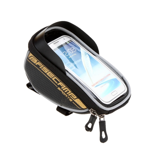 BaseCamp Mountain Road MTB Bike Bicycle Front Top Frame Handlebar Bag Cycling Pouch Touchable for 5.5Bag Supplies<br>BaseCamp Mountain Road MTB Bike Bicycle Front Top Frame Handlebar Bag Cycling Pouch Touchable for 5.5<br><br>Blade Length: 18.5cm