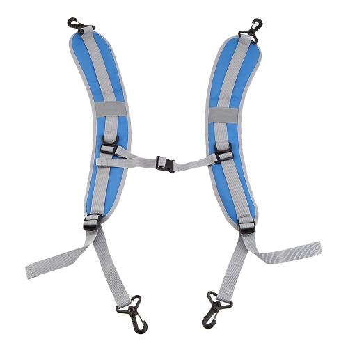 Adjustable Breathable Shoulder Belt Strap Double Hooks Backpack AccessoryOutdoor Tools<br>Adjustable Breathable Shoulder Belt Strap Double Hooks Backpack Accessory<br><br>Blade Length: 50.0cm