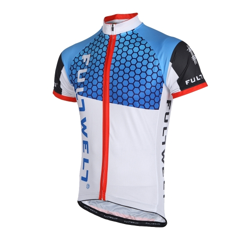 Men Breathable Outdoor Short Sleeve Sportswear MTB Cycling JerseyCycling Clothing<br>Men Breathable Outdoor Short Sleeve Sportswear MTB Cycling Jersey<br><br>Blade Length: 24.0cm