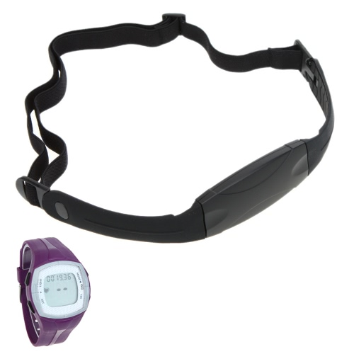 Water Resistant Wireless Transmission Sports Fitness Heart Rate Monitor Watch with Elastic Chest Belt StrapWearable Sports Electronics<br>Water Resistant Wireless Transmission Sports Fitness Heart Rate Monitor Watch with Elastic Chest Belt Strap<br><br>Blade Length: 13.5cm