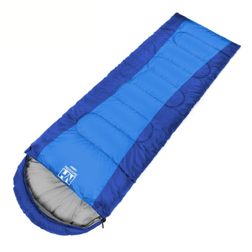 Buy 1.5kg NatureHike Outdoor Travel Camping Portable Envelope Hooded Sleeping Bag Ultra-light Autumn Winter Thermal Water-resistant (190+30)*75cm