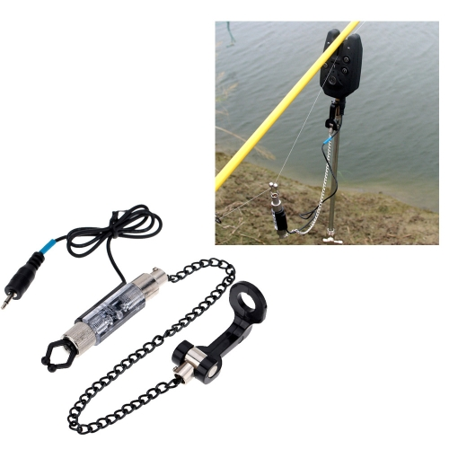 Iron Fishing Bite Alarm Chain Hanger Swinger LED Illuminated IndicatorTools &amp; Equipment<br>Iron Fishing Bite Alarm Chain Hanger Swinger LED Illuminated Indicator<br><br>Blade Length: 7.0cm