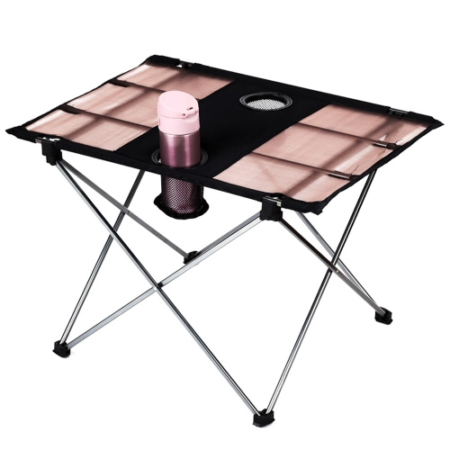 Ultra-light Aluminium Alloy Portable Foldable Folding Table Desk for Camping Outdoor Picnic Travel Fishing BBQ Beach Party Event