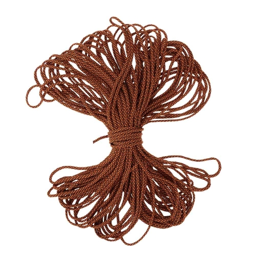 30.5M / 100FT Paracord 7 Strand Parachute Cord Lanyard Rope Clothesline Outdoor Emergency Survival ToolEmergency &amp;Survival Tools<br>30.5M / 100FT Paracord 7 Strand Parachute Cord Lanyard Rope Clothesline Outdoor Emergency Survival Tool<br><br>Blade Length: 18.0cm