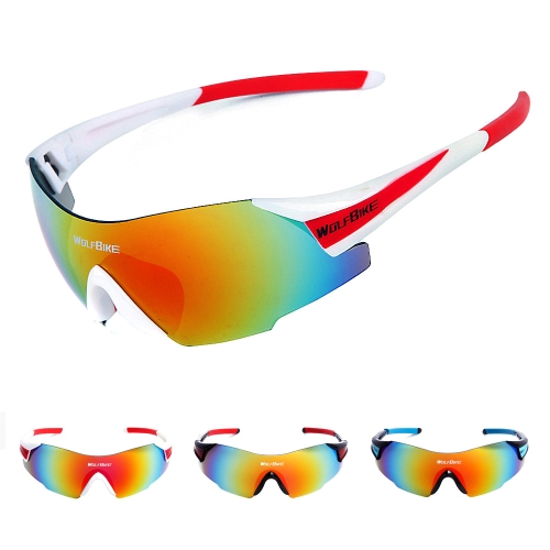 Men Women Outdoor Windproof Motorcycle Cycling Glasses UV Protection Y1272W