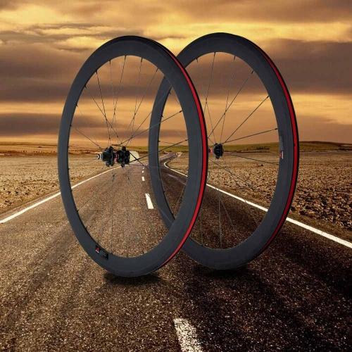 3K Full Carbon Matt 700C Road Bike Bicycle Wheelsets 50mm Clincher Rim+Spokes+Hub+Quick Release Lever Skewers+Brake PadsCycling Accesso...<br>3K Full Carbon Matt 700C Road Bike Bicycle Wheelsets 50mm Clincher Rim+Spokes+Hub+Quick Release Lever Skewers+Brake Pads<br><br>Blade Length: 82.0cm