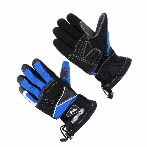 2Pcs Scoyco Winter Waterproof Windproof Thermal Motorcycle Racing Gloves Y1449BL-2XL