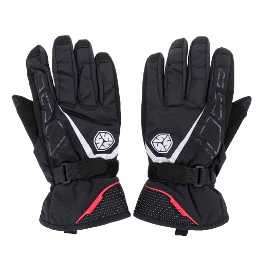 2Pcs Scoyco Long Cuff Winter Waterproof Windproof Thermal Motorcycle Racing Gloves Y1456B-M