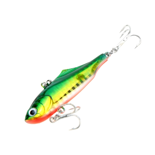 60mm 14g VIB Hard Bait Minnow Fishing Lure with Two Treble Hooks