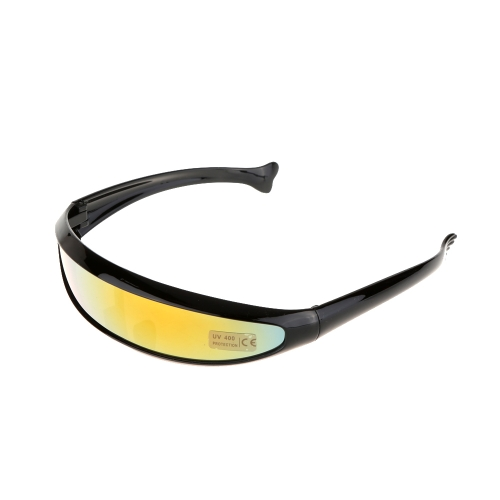 Outdoor Fishtail UV400 Uni-lens Sunglasses Riding Cycling Glasses Eyewear Goggles