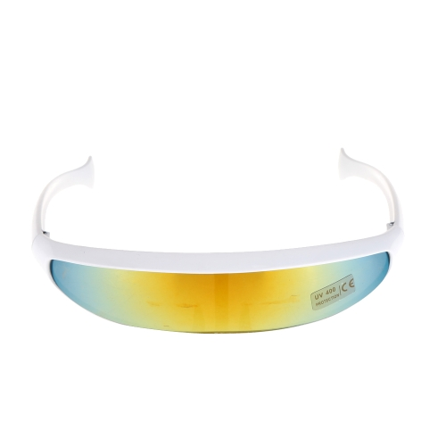 Outdoor Fishtail UV400 Uni-lens Sunglasses Riding Cycling Glasses Eyewear Goggles