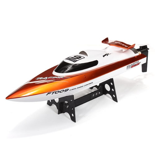 Original Feilun FT009 2.4G 30km/h High Speed RC Racing Boat with Water Cooling Self-righting System