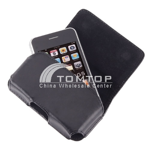 Buy Leather Side Case Belt Clip Cover Pouch iPhone 3G/3GS