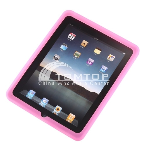Buy Fascinating Durable Rubber Soft Silicon Cover Case Apple iPAD