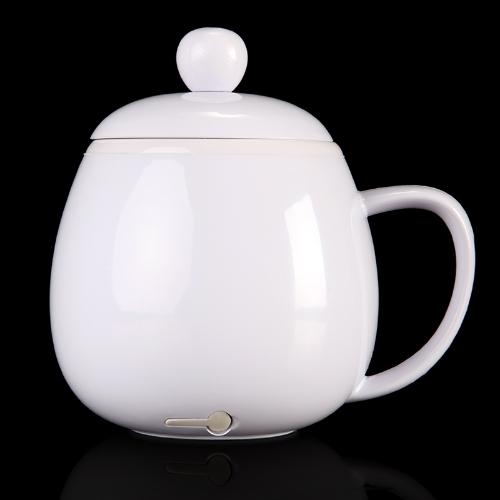 USB Powered Coffee Tea Beverage Cup Mug Warmer Heater White C1560