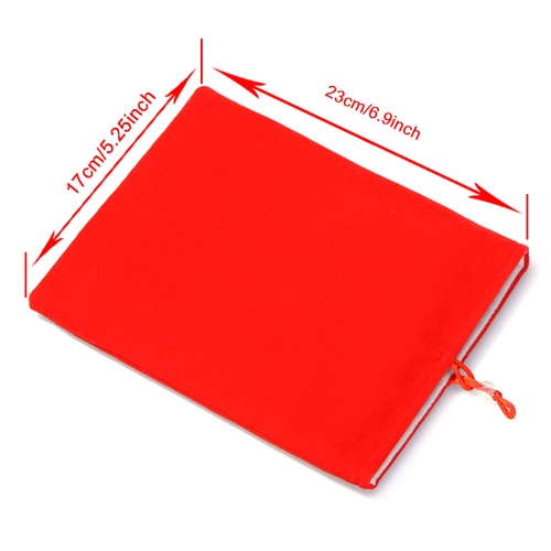 Protective Double Cloth Sleeve Bag/Pouch for iPad Mini 8 Tablet PC Kindle Fire MID RedTablet PC Protection Covers<br>Protective Double Cloth Sleeve Bag/Pouch for iPad Mini 8 Tablet PC Kindle Fire MID Red<br><br>Blade Length: 23.0cm