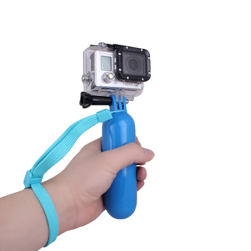 Andoer Floating Hand Grip Handle Mount Accessory for GoPro Hero 1 2 3 3+ 4 Camera Blue D1183BL