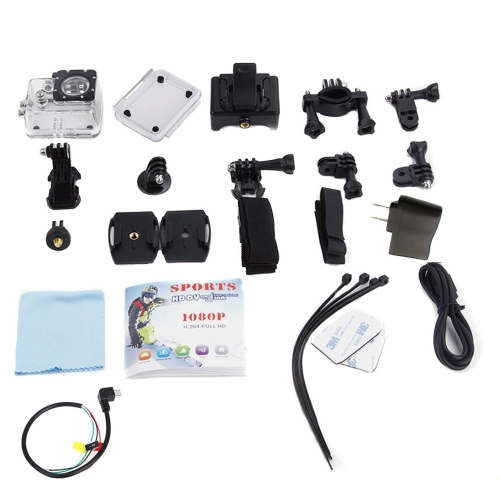 Mini1080P FHD Wifi DV Waterproof Sport Action Camera Camcorder Car DVR Outdoor Bike Helmet