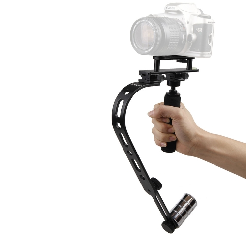 Andoer Mini Video Steadycam Steadicam Stabilizer for Canon Nikon Sony Pentax Digital Compact Camera DSLR Camcorder DV D1891