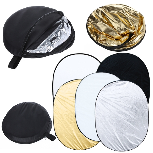 Buy 35 x 47 inch 5 1 Photography Studio Multi Photo Collapsible Light Reflector Oval 90 120cm