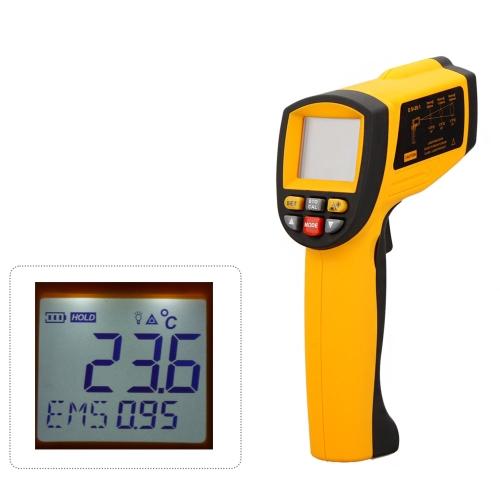 GM1150 Sans Contact 20:1 numérique infrarouge IR thermomètre Laser Gun testeur de température -50 ~ 1150? (-58 ~ 2102?) avec rétro-éclairage LCD