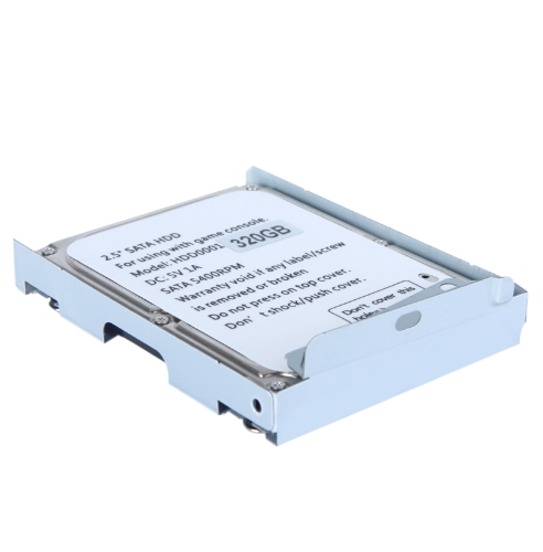 2.5in SATA Hard Disk Drive with Super Slim HDD Mounting Bracket for PS3 System CECH-400x Series 320GAccessories for SONY PS3<br>2.5in SATA Hard Disk Drive with Super Slim HDD Mounting Bracket for PS3 System CECH-400x Series 320G<br><br>Blade Length: 12.0cm