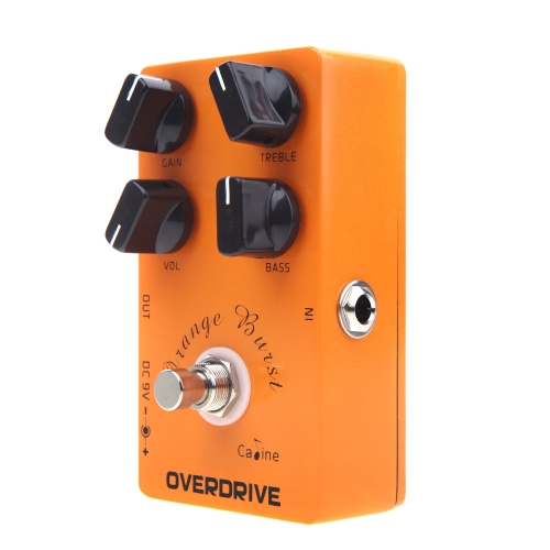 Caline CP-18 Orange Overdrive Pre AMP Pedal for Electric Guitar от Tomtop.com INT