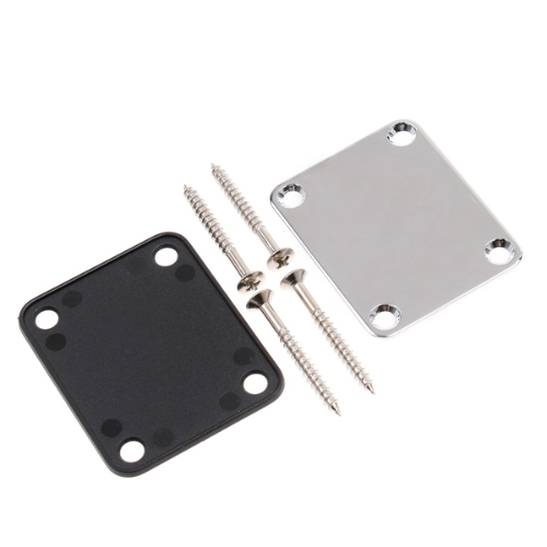 Neck Plate for Electric GuitarGuitar Accessories<br>Neck Plate for Electric Guitar<br><br>Blade Length: 6.4cm