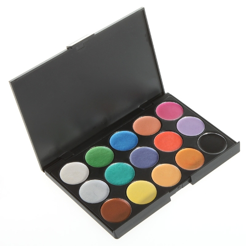 15 Color Waterproof Eyeshadow Makeup Palette Cosmetic Set H9081