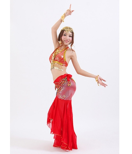 Tops and skirt for belly dance