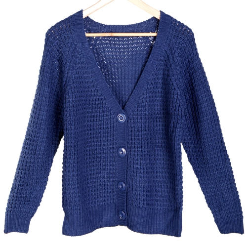 Women's Long Sleeves Cardigan Sweater