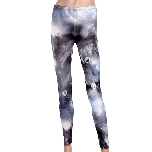 Womens Galaxy Leggings PantsHosiery &amp; Leggings<br>Womens Galaxy Leggings Pants<br><br>Blade Length: 24.0cm