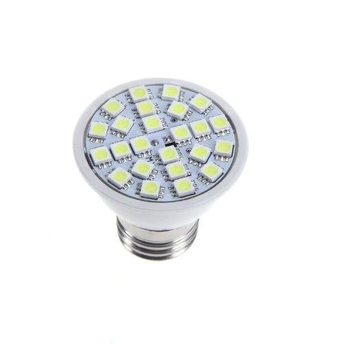 E27 5W 24SMD 5050 LED Light Bulb Lamp Spotlight White 220V Energy SavingLED Bulbs &amp; Tubes<br>E27 5W 24SMD 5050 LED Light Bulb Lamp Spotlight White 220V Energy Saving<br><br>Blade Length: 5.5cm