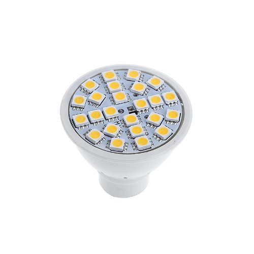 GU10 5W 24SMD 5050 LED Light Bulb Lamp Spotlight Warm White 220V Energy Saving H10008WW