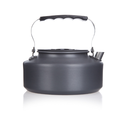 1.1L Portable Ultra-light Outdoor Hiking Camping Picnic Water Kettle Teapot Coffee Pot Anodised Aluminum H10021