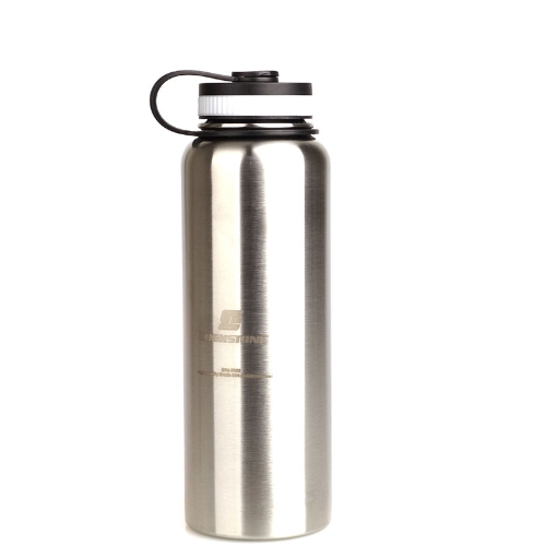1000ML Stainless Steel Insulated Vacuum Cup Sports Water Bottle Silver