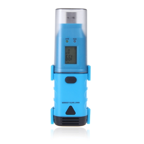 USB température humidité HR & T Data Logger enregistreur Dew Point LCD affichent LED alarme DGraph