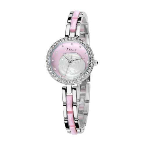 KIMIO Fashion Classic Girls Ladies Female Quartz Bracelet Watch Elegant Design KW500S PinkFashion Dress Watches<br>KIMIO Fashion Classic Girls Ladies Female Quartz Bracelet Watch Elegant Design KW500S Pink<br><br>Blade Length: 20.0cm