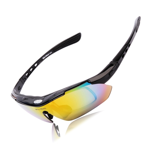 UV400 Polarized Sunglasses Safety Eyewear Goggle for Bicycle Riding Open-air Activities Detachable Universal 5 Lens BlackBicycle Glasses<br>UV400 Polarized Sunglasses Safety Eyewear Goggle for Bicycle Riding Open-air Activities Detachable Universal 5 Lens Black<br><br>Product weight: 250.0g