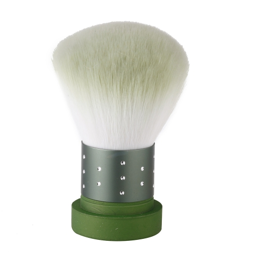 Makeup Brush Foundation Face Powder Blusher Cosmetic Tool GreenCosmetic Brushes<br>Makeup Brush Foundation Face Powder Blusher Cosmetic Tool Green<br><br>Blade Length: 13.0cm