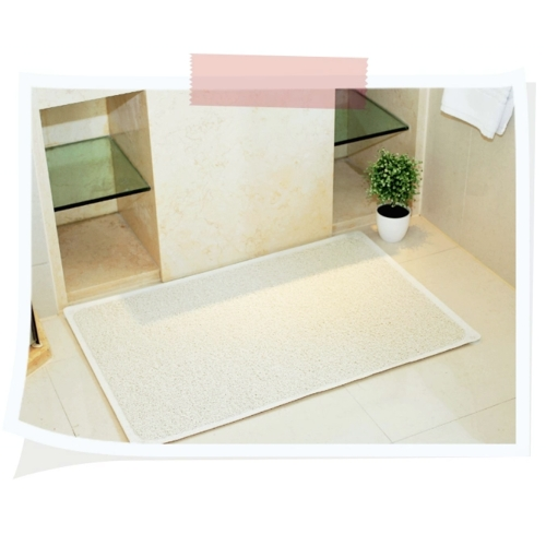 Bathroom Safety Carpet PVC Bath Shower Rug Anti-slip Mat with Non-slip Suction Cup H10972
