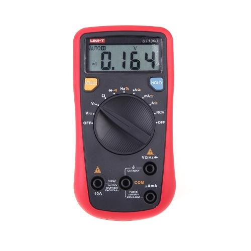 UNI-T UT136D Handheld Auto-ranging Digital Multimeters H11436