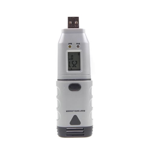 USB humidité température RH & T Data Logger enregistreur LCD affichent LED alarme DGraph