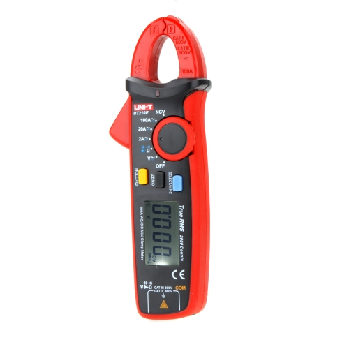 UNI-T UT210E True RMS AC/DC Current Mini Clamp Meters w/ Capacitance Tester H12074