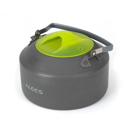 ALOCS CW-K09 Portable Aluminum Oxide Outdoor Camping Pot Teapot Kettle 0.9L